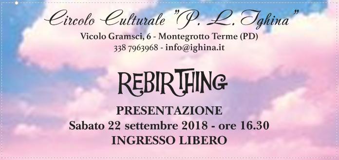 Rebirthing Circolo Ighina fronte