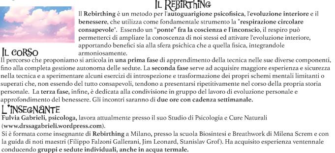 Rebirthing Circolo Ighina retro