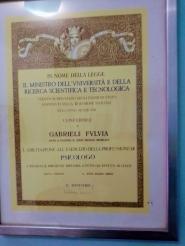 Laurea all'Università di Padova